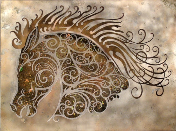Silver-Pewter-Metallic-background-Glass-Etching